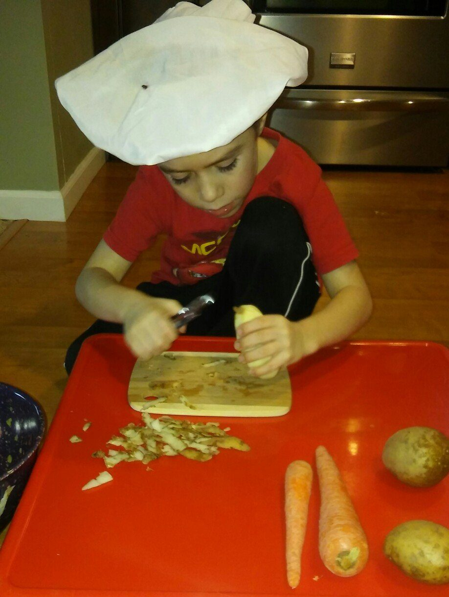 Cooking skills for kids homeschool elective course